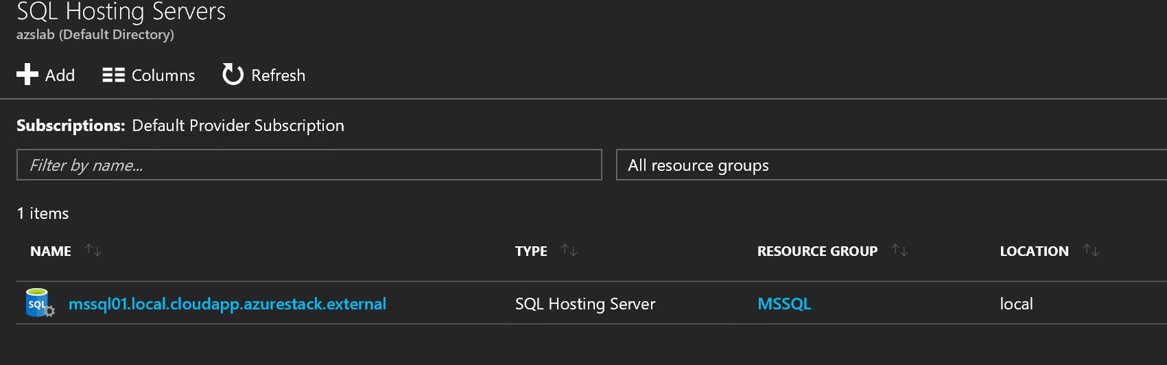 Added hosting server